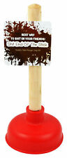 Novelty Mini Toilet Plunger - Perfect Gag Gift To Crap On Your Friends Giftaable