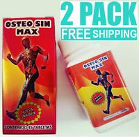 2 PACKS OSTEO SIN MAX ARTHRITIS 35 tabs EACH ARTRITIS OSTEOPOROSIS JOINT PAIN