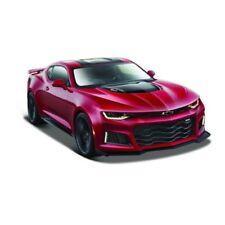 Modellini statici di auto, furgoni e camion in metallo bianco Scala 1:24 per Chevrolet