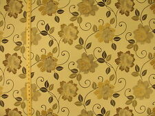 CF Stinson Sunbrella Day Dream Bloom Pelican Floral Outdoor Upholstery Fabric