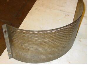 Gitter Siebe 4mm für Hammermühle / Sieve 4mm for Hammer mill
