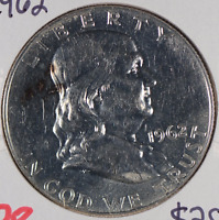 1962 Franklin Half Dollar Proof #175697