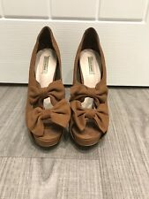 River Island Brown High Heel Shoes - Size 5