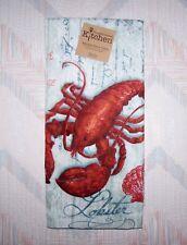 Lobster Terry Towel Kay Dee Lobsterfest Pattern