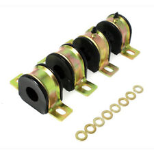 """Energy Suspension Sway Bar Bushing Kit 3.5177G; 1.250"""" Front Black for Chevy"""