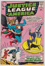 Justice League Of America #32 Fine Condition Intro & Origin Brain Storm!