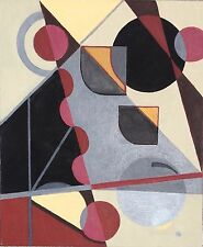 Dr. Ben Gross Listed California Artist Original Abstract Painting on Canvas