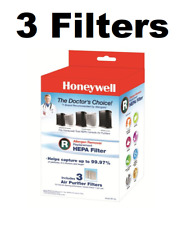GENUINE Honeywell HPA-090, HPA-100, HPA200, HPA300 Air Filters Part HRF-R3  3 PK