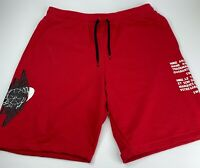 NWT's Nike Air Jordan Jumpman Classic Wings Red Basketball Shorts Mens Size XL