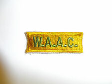 a0114  WWII US Army WAC Enlisted Woman's Sleeve Patch A5B1