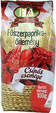 Paprikapulver scharf , ungarische Paprika 100g Tüte