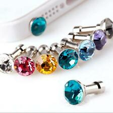50 x Diamond Headphone Dust Plug Dust  iphone4 4s for 3.5mm