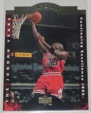 1996/97 Michael Jordan Chicago Bulls Upper Deck A Cut Above Insert Card #CA10 NM