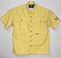 Bone Collector Logo Fishing Hunting Shirt Vented Polyester Sz XL Short Sleeve
