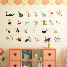 Animal Alphabet Classroom Nursery Wall Sticker WS-44770