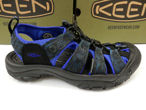 Keen Mens Newport H2 Black Lime Punch 10.5