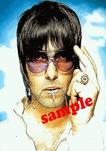 AMAZING LIAM GALLAGHER OASIS POP ART CANVAS #1 QUALITY ARTWORK WALL ART PICTURE