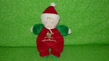 """Carter's Child of Mine MY FIRST CHRISTMAS Baby Doll Plush Stuffed Soft Toy 9"""""""