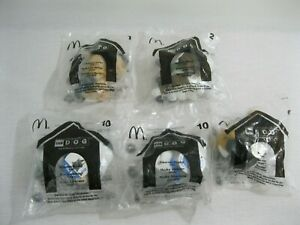 New! The Dog Plush Lot McDonalds Happy Meal Hound Terrier Boxer Husky 2005 1 2 4
