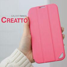 FENICE CREATTO Samsung Galaxy Note II Premium Italian PU Leather Case - Pink