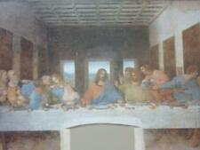 A3 LEONARDO DA VINCI painting poster The Last Supper National Gallery exhibition