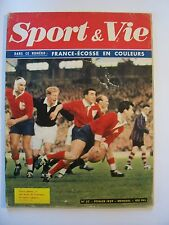 """"""" Sport & Vie """" Revue - N° 33 / Février - 1959  ( Rugby , Tennis , Sports USA )"""
