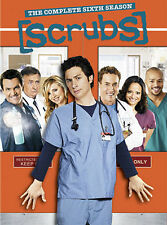 SCRUBS: THE COMPLETE SIXTH SEASON 6 - BRAND NEW & SEALED R4 DVD BOX SET (4-DISC)