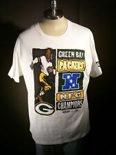 Green Bay Packer NFC Champions T-Shirt by Starter, NOS Large