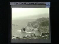 43 Lantern Glass Slide Enys Dodman Lands End Cornwall ORIGINAL Photo pre-1920s