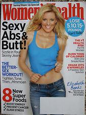 Women's Health Magazine - March 2012 - Elizabeth Banks - Sexy Abs & Butt