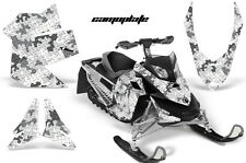 Snowmobile Graphics Kit Sled Decal Wrap For Ski Doo Rev XP Summit 08-12 CAMO WHT