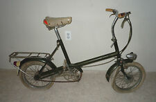 """VINTAGE 1968 RALEIGH RSW COMPACT BICYCLE BIKE 16"""" WHEELS (MADE IN GREAT BRITIAN)"""