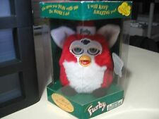 "6"" electronic Xmas Santa Furby doll, by Tiger Electronics 1999, Brand New Sealed"