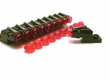 LEGO /10 NEW Black fire action MOUNTED BLASTERS w/ bullet rounds - weapon cannon