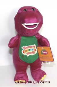 "Barney Doll Singing "" I Love You"" Song 12 Inches"