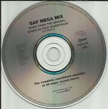 QUEER AS FOLK qaf ULTRA RARE MEGA MIX 6 MINUTES PROMO Radio DJ CD single 2001