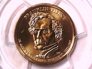 2010 D Franklin Pierce Presidential Dollar PCGS SP 68 Position A 18201301
