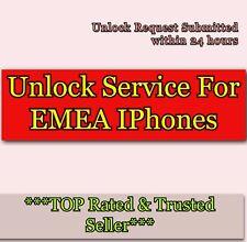 Fast Unlock Service For iPhone 7 8 & 7 Plus 8 PLUS code For EMEA WORLDWIDE