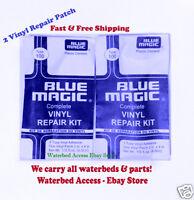 2 Vinyl Repair Kit Blue Magic WATERBED PATCH KITS- Mattress Repair-FREE SHIPPING