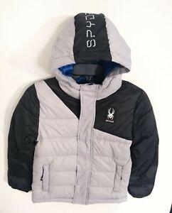 Boys Spyder Coat Jacket Black and Gray