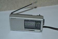 Sony Tragbares Radio ICF-SW11 Taschenradio Silber
