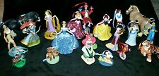 Disney Princess Deluxe Christmas Ornament 20 piece set with animal friends
