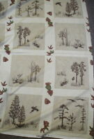 Migration trees Holly Taylor blocks panel Moda fabric