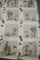 Migration trees Holly Taylor blocks panel Moda fabric