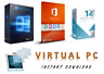 Windows 10 Office 2016 Pro Virtual PC, VMware 14 Pro Fully Installed