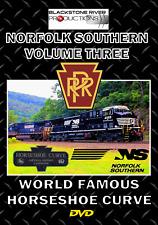 NORFOLK SOUTHERN VOLUME THREE WORLD FAMOUS HORSESHOE CURVE BLU-RAY