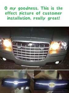 NEW Chrysler LED Logo Light Car For Front Grille Badge Illuminated Decal Sticker