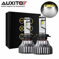 2X AUXITO H7 LED Headlight Bulb High Low Beam Bulb Conversion Kit High Power