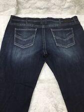 "BKE ""Jake"" Mens Boot Cut Dark Wash Casual Jeans Mens Size 46S x 31"