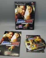 PLAYSTATION 2 PS2 WWE SMACKDOWN VS RAW 2009 COMPLETE GAME